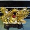 Rồng vàng ngựa vàng đế to A150
