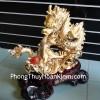 Rồng vàng tường long nạp tài A158