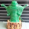Phật di lạc xanh dang tay lớn H241G