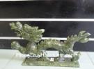 Rồng đá Lam Ngọc lớn HM048