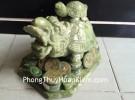 Rùa đầu rồng Lam Ngọc cõng con lớn HM033