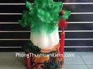 Bắp cải xanh lớn trên cây bồ đề H191G