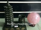 Tháp văn xương lam ngọc + đựng bút HM133