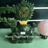 Rùa đầu rồng Lam Ngọc cõng lửa tiền HM124