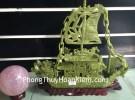 Thuyền rồng lam ngọc xanh lá HM182