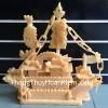 Thuyền buồm đá ngọc Hoàng Long HM060