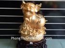 Heo vàng trên túi vàng H382G