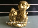Khỉ ngồi chữ phước lớn D171