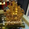 Thuyền buồm vàng nhỏ K166M
