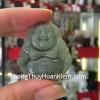Phật Di Lạc ngọc phỉ thúy xanh đậm S6321