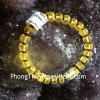 Chuỗi hổ phách hạt đĩa nâu trong A S6357-3219