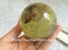 Quả cầu thạch anh vàng GM150-S2-6005