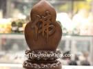 Phật quan âm vàng sa kim đế gỗ C138A