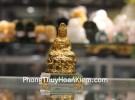 Phật quan âm vàng đế thủy tinh C139A