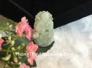 Mặt 12 con giáp Phỉ Thúy xanh A+ Tuổi Thân S6643-9