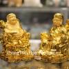 Cặp thần tài thổ địa vàng may mắn C145A