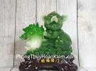 Vua heo xanh ôm bắp cải nhỏ LN010