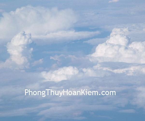 may Tranh tường mây (Mây lành)