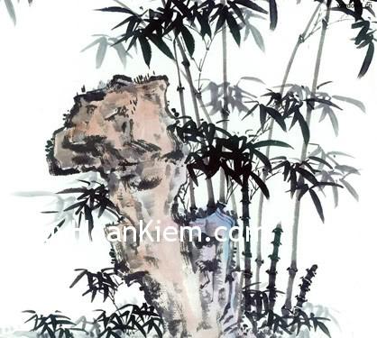 nghetthuatphatgiao truc19 Tranh thực vật sinh vượng