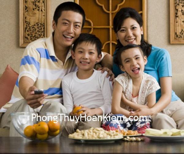 gia1 Phương vị trong phòng và các thành viên trong gia đình