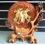 DSC05926 150x150 Ngựa vàng 3 con trong trăng đỏ H310G
