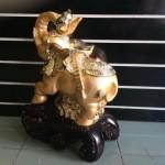h357g 1 150x150 Voi vàng, vòi hồ lô vàng lớn H357G