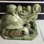 HM033.2 150x150 Rùa đầu rồng Lam Ngọc cõng con lớn HM033