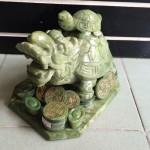 HM033.3 150x150 Rùa đầu rồng Lam Ngọc cõng con lớn HM033