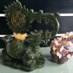 hm124.2 150x150 Rùa đầu rồng Lam Ngọc cõng lửa tiền HM124