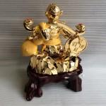 K037M.1 150x150 Khỉ gánh tiền vàng quả đào K037M