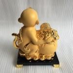 k054m.1 150x150 Khỉ tài lộc ôm túi vàng K054M