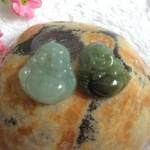s6327.1 150x150 Phật Di Lạc ngọc Phỉ Thúy xanh đậm nhỏ S6327