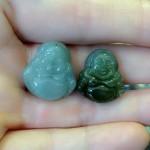 s6327.2 150x150 Phật Di Lạc ngọc Phỉ Thúy xanh đậm nhỏ S6327