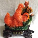 g019a.3 150x150 Gia đình gà bên sen màu ngọc cam G019A