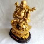 g148.2 150x150 Phật di lạc gánh như ý tiền hồ lô vàng trên nguyên bảo lớn G148A