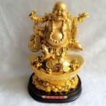 g148.3 150x150 Phật di lạc gánh như ý tiền hồ lô vàng trên nguyên bảo lớn G148A