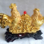 g002a.2 150x150 Gia đình gà trên hũ vàng G002A