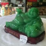g136a.1 150x150 Phật di lạc ngọc xanh đế gỗ G136A