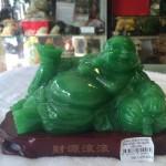 g136a.3 150x150 Phật di lạc ngọc xanh đế gỗ G136A