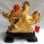 g004a.2 150x150 Gia đình gà vàng bên cây tiền G004A
