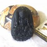 s6340 3.2 150x150 Phật bản mệnh đá hắc ngà tuổi Mão ( Văn Thù Bồ Tát) S6340 3