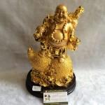 g152a.3 150x150 Phật di lạc quả đào vàng trên hồ lô vàng G152A