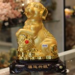 c018a cho vang 150x150 Chó vàng dựa như ý đế gỗ C018A