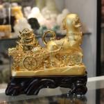 c023a cho vang keo xe vang 1 150x150 Chó vàng kéo xe vàng tài vượng C023A