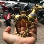 D281.1 150x150 Ngựa đồng đèo vàng D281
