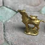 D281.2 150x150 Ngựa đồng đèo vàng D281