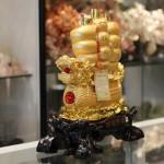 c186a thuyen buom rong vang 2 150x150 Thuyền buồm rồng vàng trên sóng vàng C186A