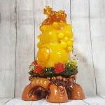 ln198 ho lo cam luu ly 1 150x150 Hồ lô cam vàng ngọc lưu ly có chùm vải LN198