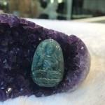 s6865 5 150x150 Phật bản mệnh Phỉ Thúy xanh đậm sắc sảo A+ nhỏ tuổi Ngọ S6865 5