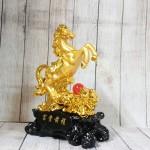 ln128 ngua vang chau do 150x150 Vua ngựa vàng trên núi mẫu đơn hồng ngọc LN128